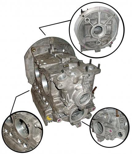 Blok motoru Std/OE - Typ 1/3 motory (1970 »)
