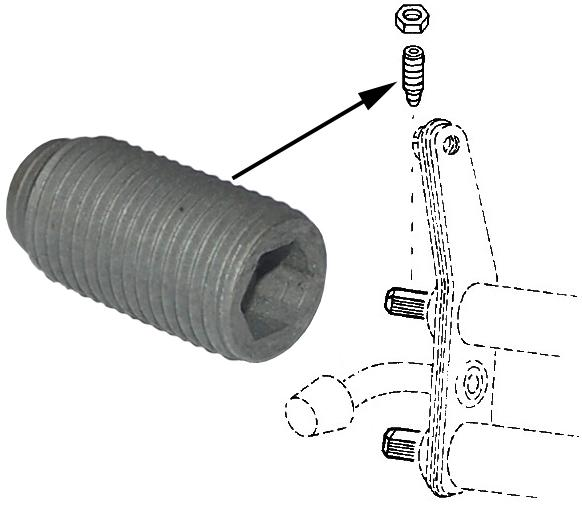 Šroub kyvného ramene/přední - Typ 1/2/3/14/181 (» 2003)