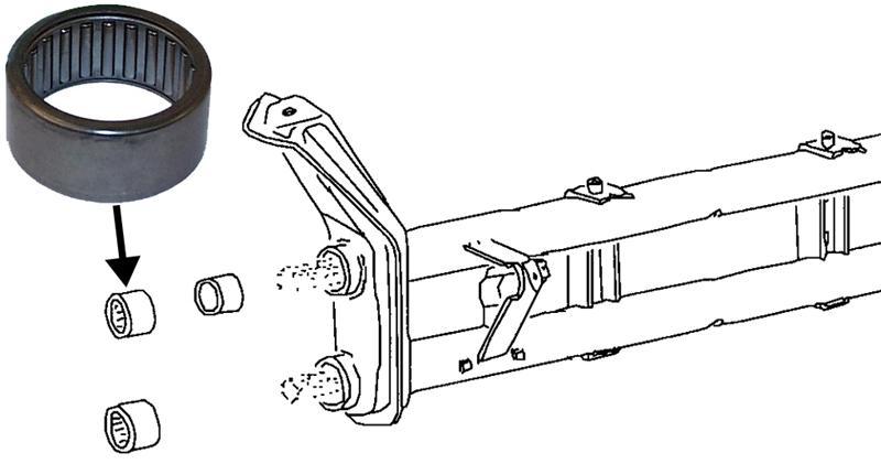 Ložisko ramene horní/spodní - Typ 1/14/181 (1960 » 03)