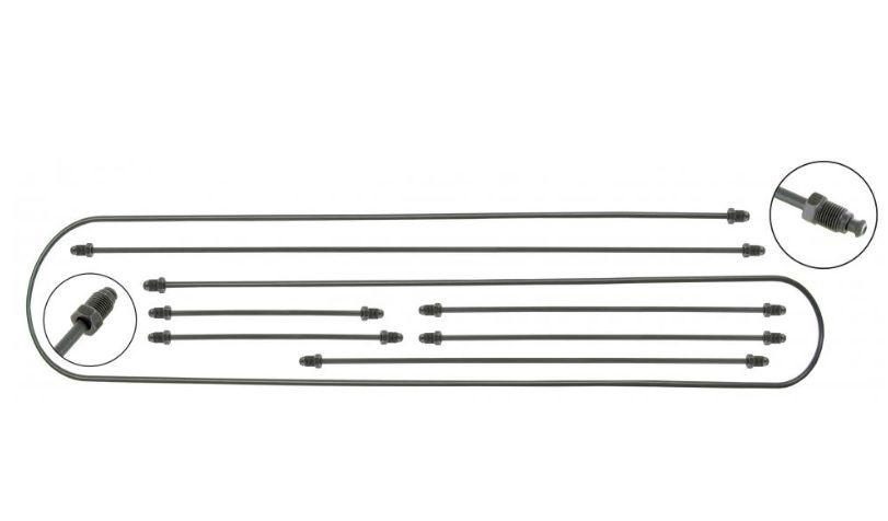 Trubky brzd/kit - Typ 1/14 (1957 » 69)
