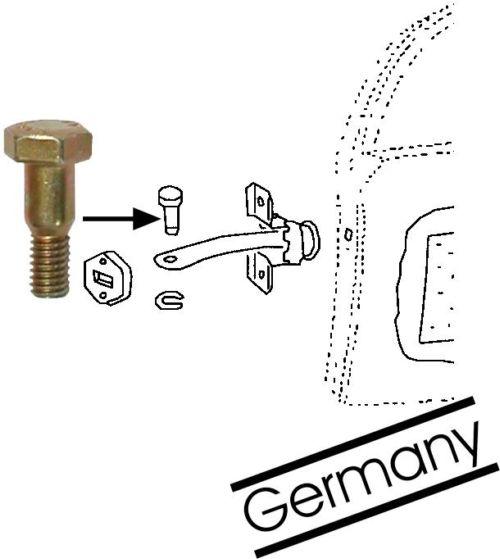 Čep/omezovač dveří - Typ 1 (1955 » 03)