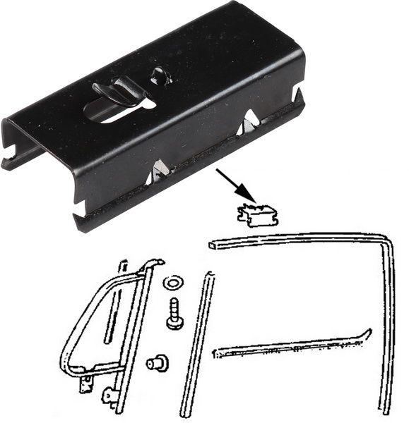 Spony vedení skla dveří/U-profil - Typ 1/2/3/14 (1961 » 03)