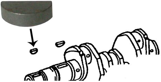 Klínek řemenice - Typ 1/3 motory (1960 » 03)