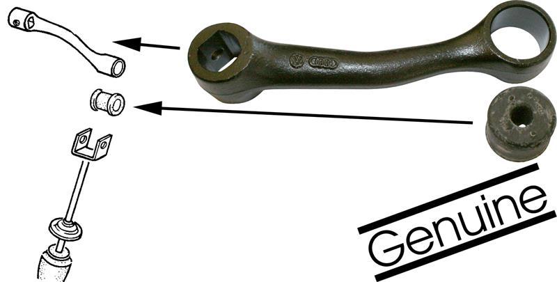 Páka stabilizátoru zadní L/P - Typ 1/14 (1966 »)