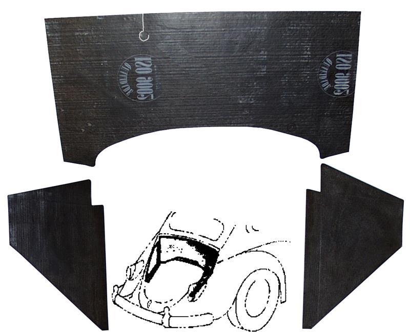 Panely za motorem/Std - Typ 1 (1955 » 03)