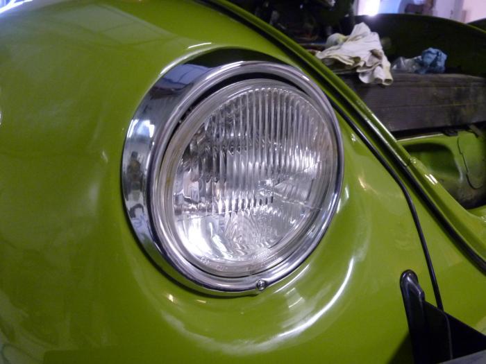 Rámeček světlometu/chrom L/P - Typ 1/2/3/181 (1967 »)