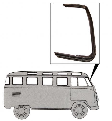 Těsnění křídla ventilace/P - Typ 2 (1953 » 67)