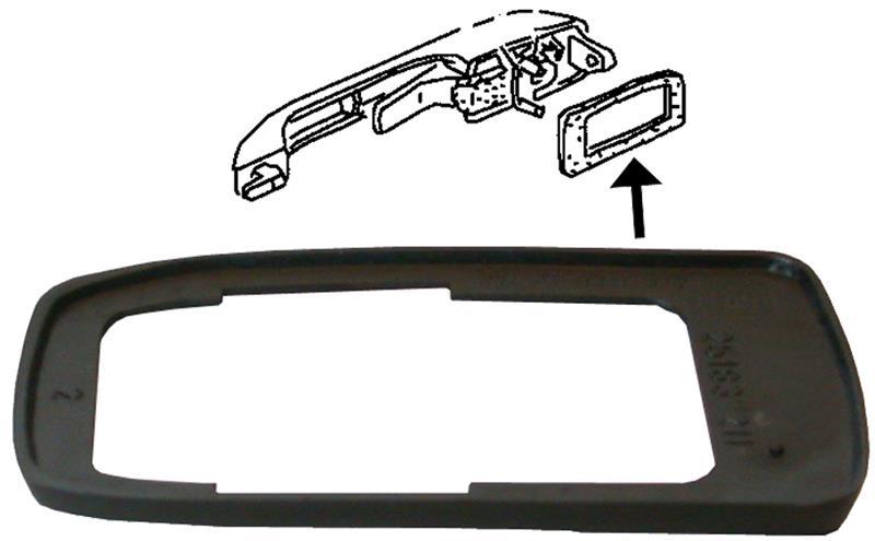 Těsnění kliky dveří/zadní L/P - Typ 25 (1979 » 92)