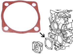 Těsnění čerpadla oleje/spodní - Typ 1/3/WBX motory (1965 »)