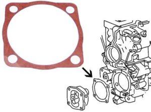 Těsnění čerpadla oleje/horní - Typ 1/3/WBX motory (1965 »)