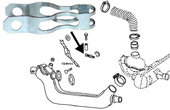 Držák struny topení/výměník tepla - Typ 1/2/3/4/14/25/181 (» 2003)