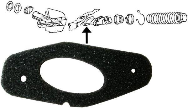 Těsnění trubky topení L/P - Typ 1/14 (1967 » 03)