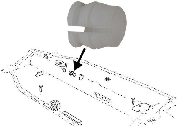 Pouzdro tyče řazení/bez kroužku - Typ 1/2/3/14/181(1958 » 03)