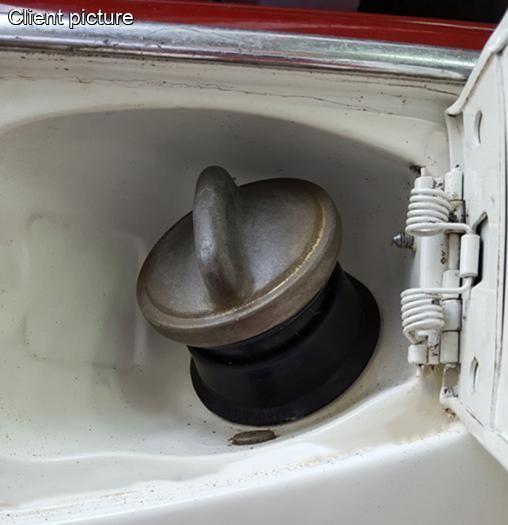Manžeta/hrdlo nádrže paliva - Typ 1 (1970 » 03)