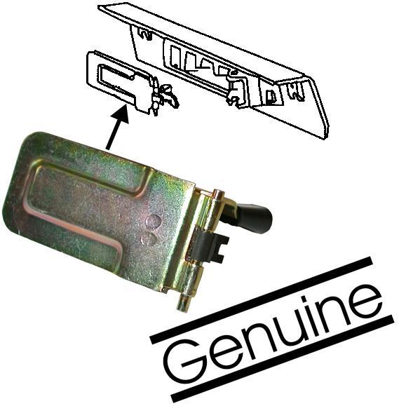 Klapka krytu topení/L - Typ 1 (1968 » 03)