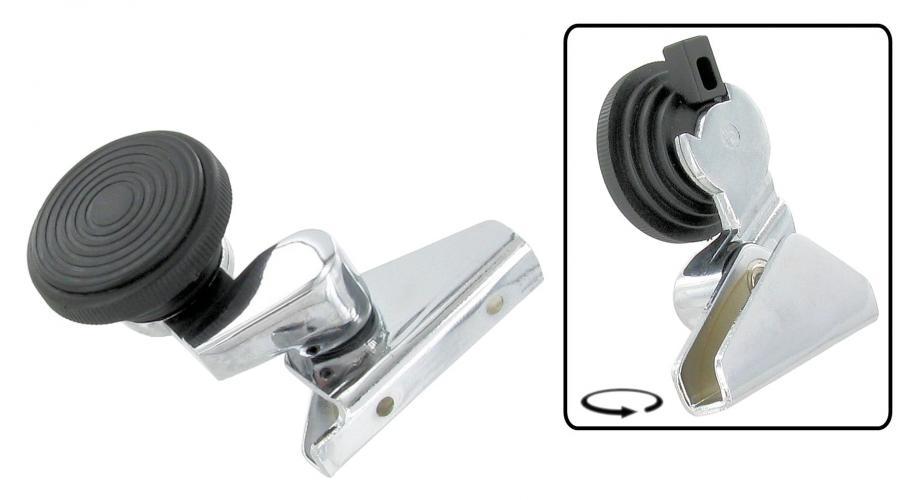 Klička ventilace chrom/L - Typ 1/2/3 (1967 » 03)