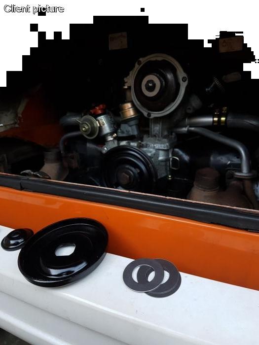Podložka/napínání klínového řemene - Typ 1/3 motory (» 2003)