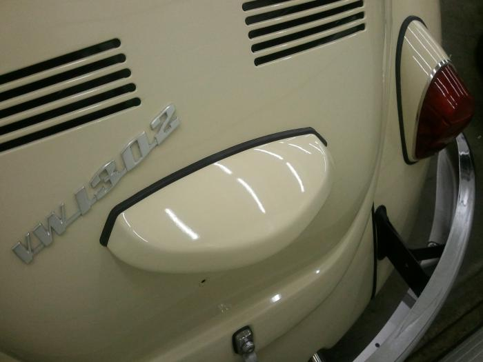 Těsnění OE/osvětlení SPZ - Typ 1 (1966 » 03)