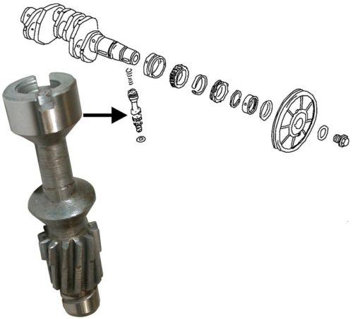 Náhon rozdělovače - Typ 1/3/CT/CZ/WBX motory (1960 » 03)