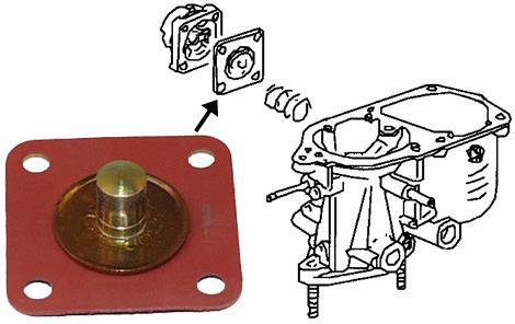 Membrána karburátoru - Typ 1/2/14/181 (1960 » 82)