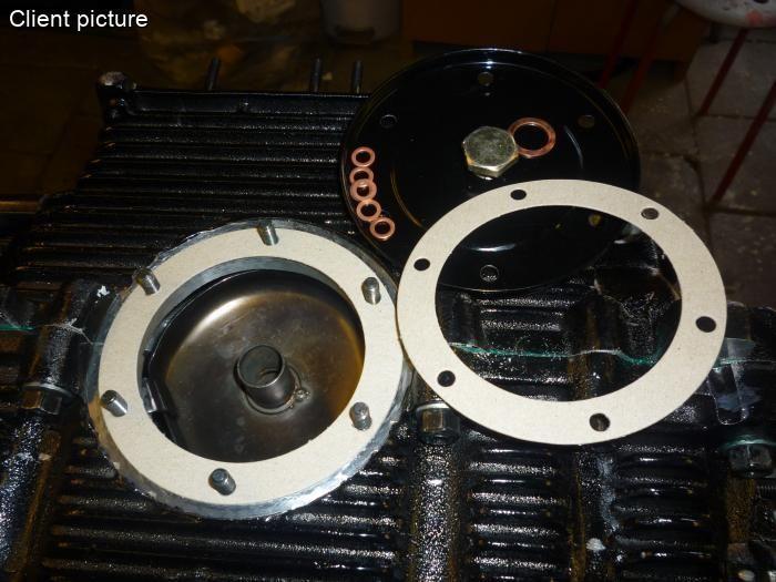Těsnění filtru oleje/spodní - Typ 1/3/CT/CZ motory (1960 » 03)