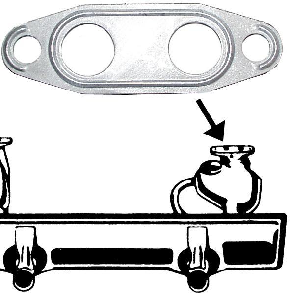 Těsnění předehřev/dual - Typ 1 motor (1974 »)