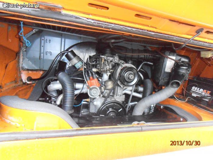 Hadice chlazení motoru/plast - Typ 1 motor (1963 »)