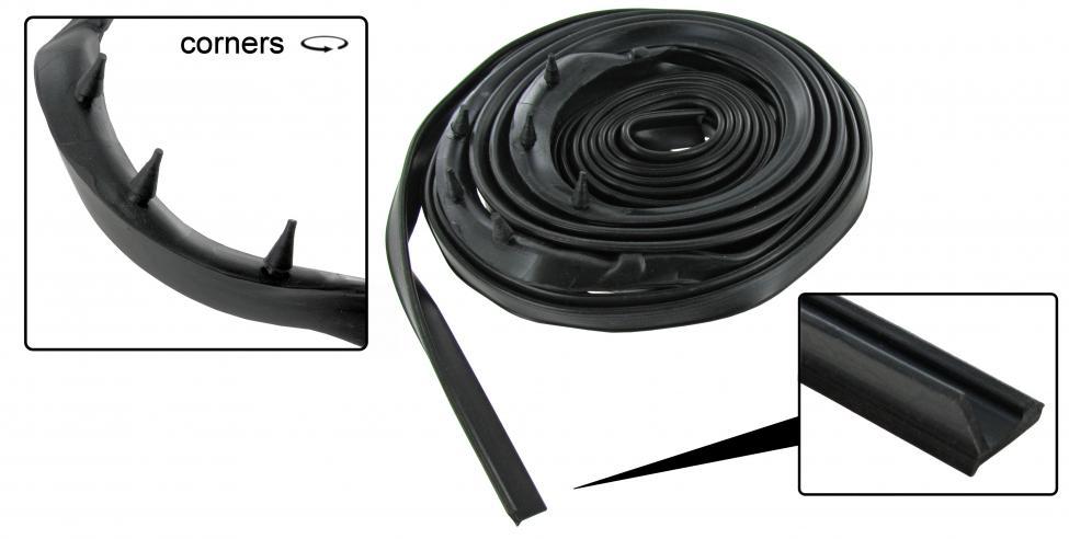 Těsnění přední kapoty/OE - Typ 1/1302 (1960 » 84)