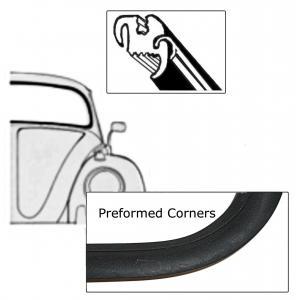 Těsnění skla pro lištu OE/přední - Typ 1 (1964 » 71)