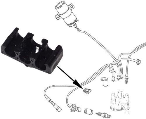 Držáky Std/zapalovací kabely - Typ 1/3/IV motory (» 2003)