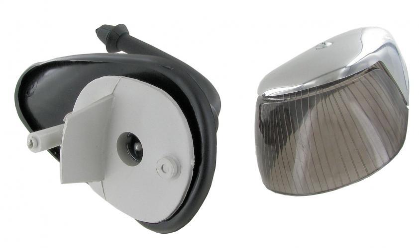 Světla směrová přední kouřová/chrom L/P - Typ 1/181 (1963 » 74)