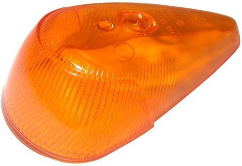Sklo směrového světla OE/přední oranž L/P - Typ 1/181 (1963 » 74)