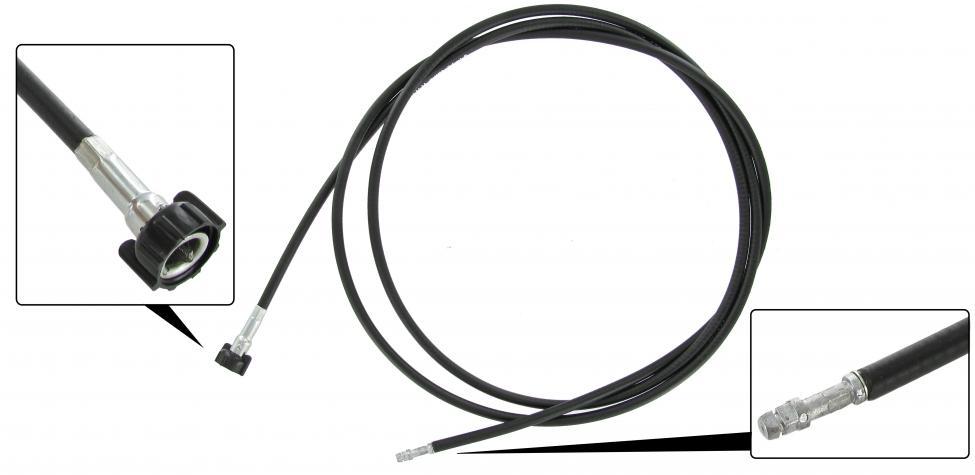 Náhon tachometru LHD - Typ 4+T.1 1302/03 (1970 » 80)