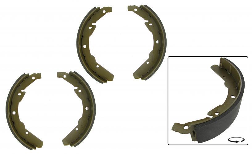 Čelisti brzd/zadní - Typ 2 (1970 » 71)