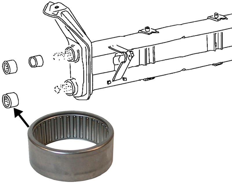 Ložisko ramene/spodní - Typ 1/3/14/181 (1962 » 03)