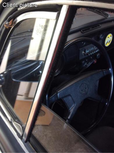 Sametky stahování skla dveří/ventilace - Typ 1/2 (1964 » 03)