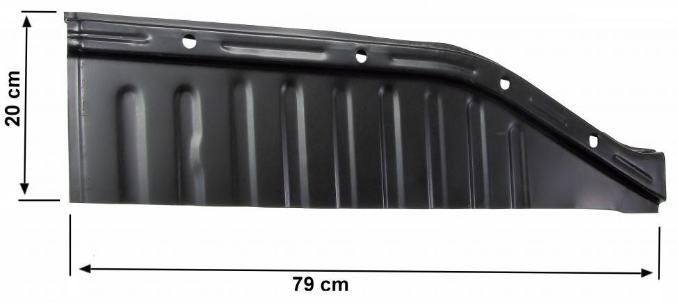 Panel podlahy/přední 1/4 L - Typ 1 (» 2003)