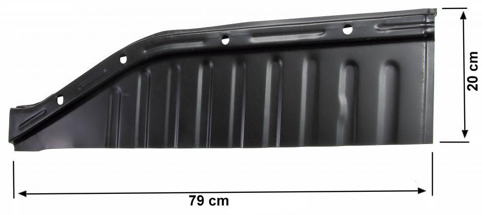 Panel podlahy/přední 1/4 P - Typ 1 (» 2003)