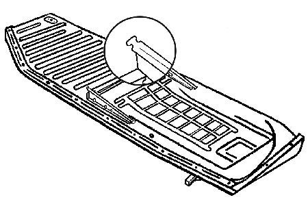 Panel podlahy/L - Typ 1 (1970 » 72)