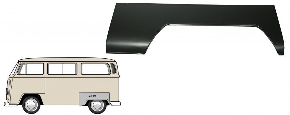 Blatník zadní/L - Typ 2 (1967 » 72)