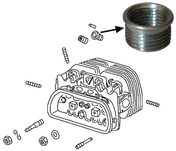 Vložka zapalovací svíčky/M 14mm - Typ 1/3 motory (» 2003)