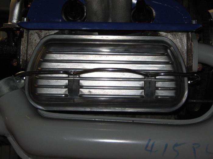Víka ventilů Alu/spona - Typ 1/3/CT/CZ/WBX motory (1960 » 03)