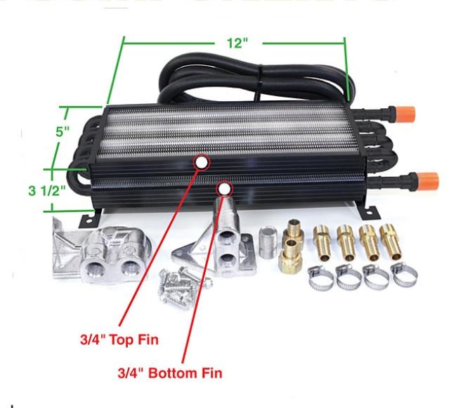 Chladič oleje externí/kit - Typ 1 motor (1960 »)