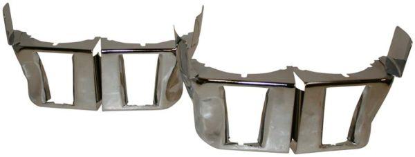 Krycí plechy válců spodní/chrom - Typ 1/3/CT/CZ motory (1961 »)