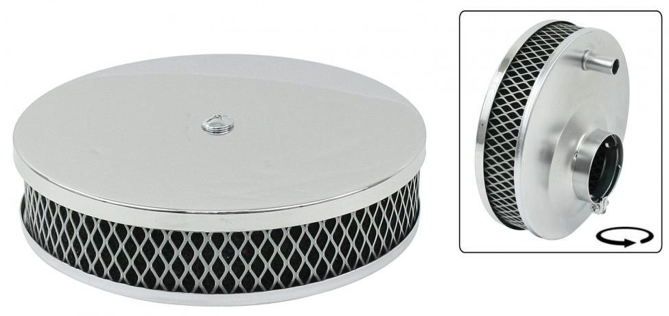 Filtr vzduchu 40x170mm/chrom - Typ 1 motor (28-34 PICT)