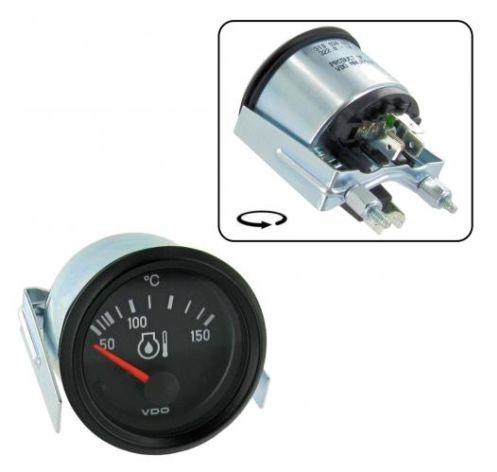 Přístroj černý/teplota oleje/50°-150°C (Ø 52mm)