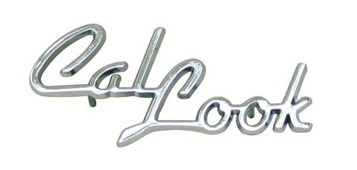 Emblem Cal-Look/chrom - Typ (univerzál)