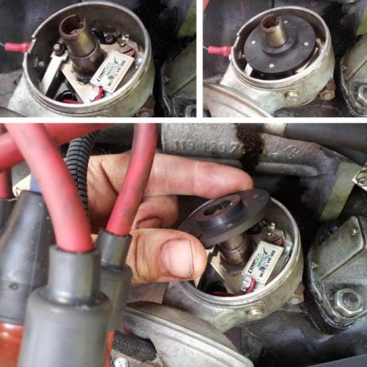 Bezkontaktní zapalování 009/elektronik - Typ 1/2/3/14/25/Porsche 356/914/4 (1950 »)