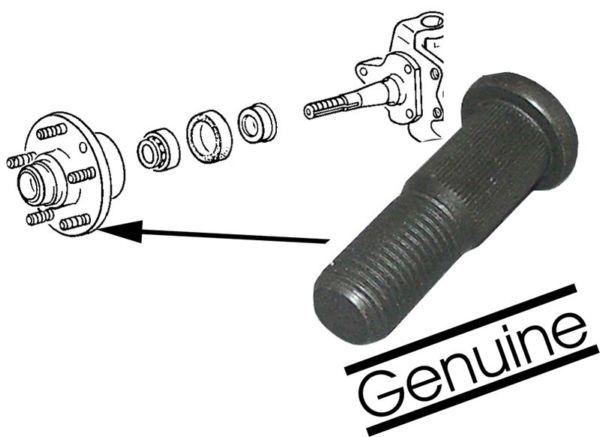 Svorník matice kola/přední - Typ 2/25 (1970 » 92)