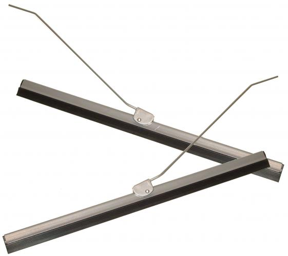 Lišty stírací šedé/ramínka - Typ 1 (1957 » 59)